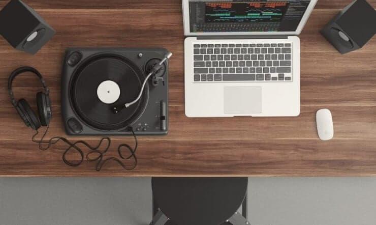 Equipo para poder editar tu música para patinaje artístico