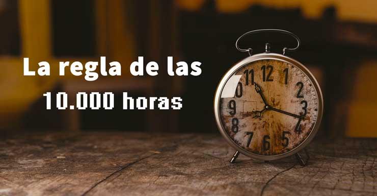 la regla de las 10000 horas