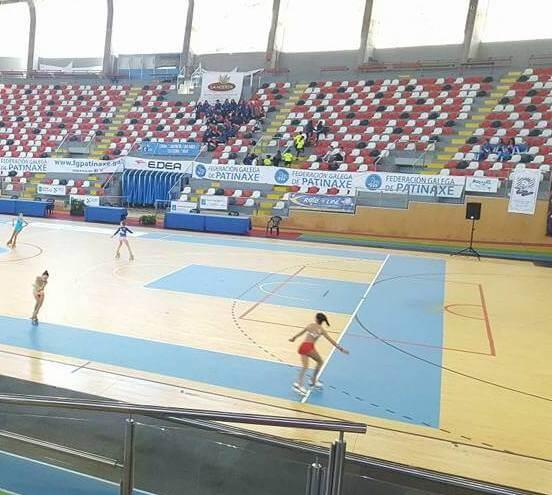 Palacio de los deportes a coruna patinaje