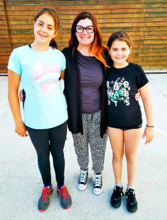 Referentes JAnet Ruiz con chicas Puro patin Patinaje