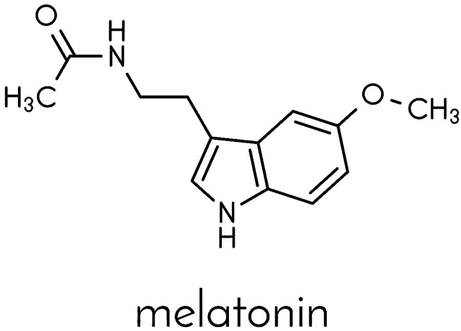Melatonina fórmula química