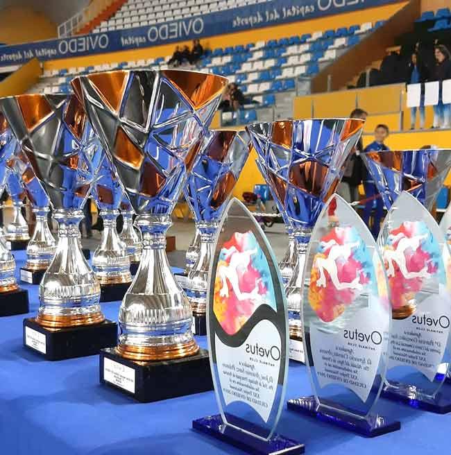 Trofeo Ovetus voluntarios copas