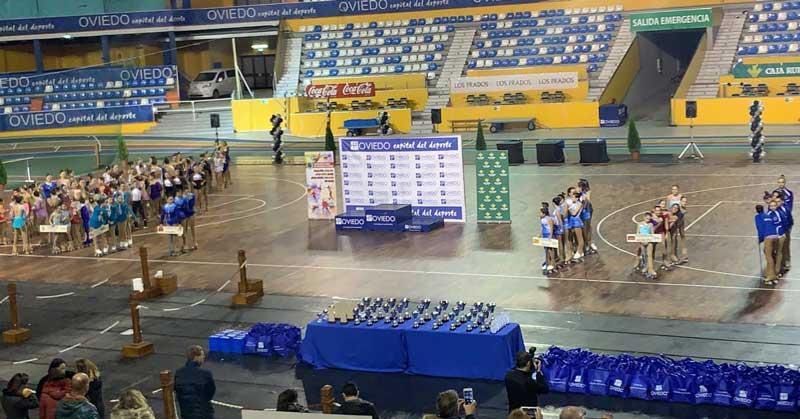Trofeo Ovetus voluntarios gradas