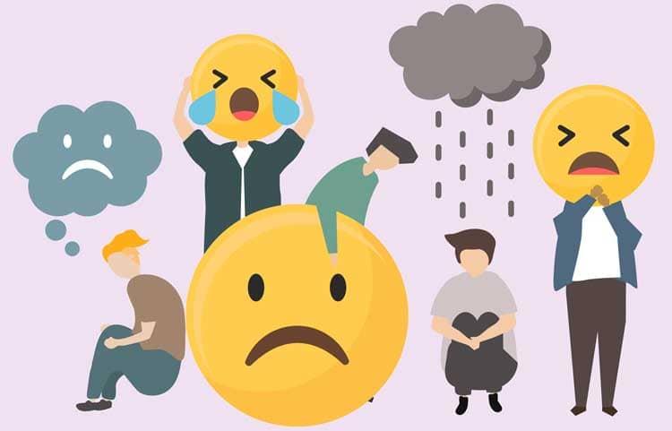 emoji triste